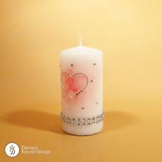 Kerze Valentin