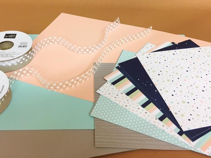 Runde 2 – Papier und Bänderteilen