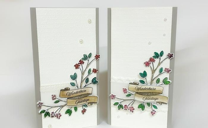 Mit geeisten Zweigen zu Skizze Nr.12