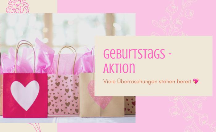 Geburtstagsmonat März –Aktion